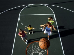 bill-bachmann-family-playing-basketball-together